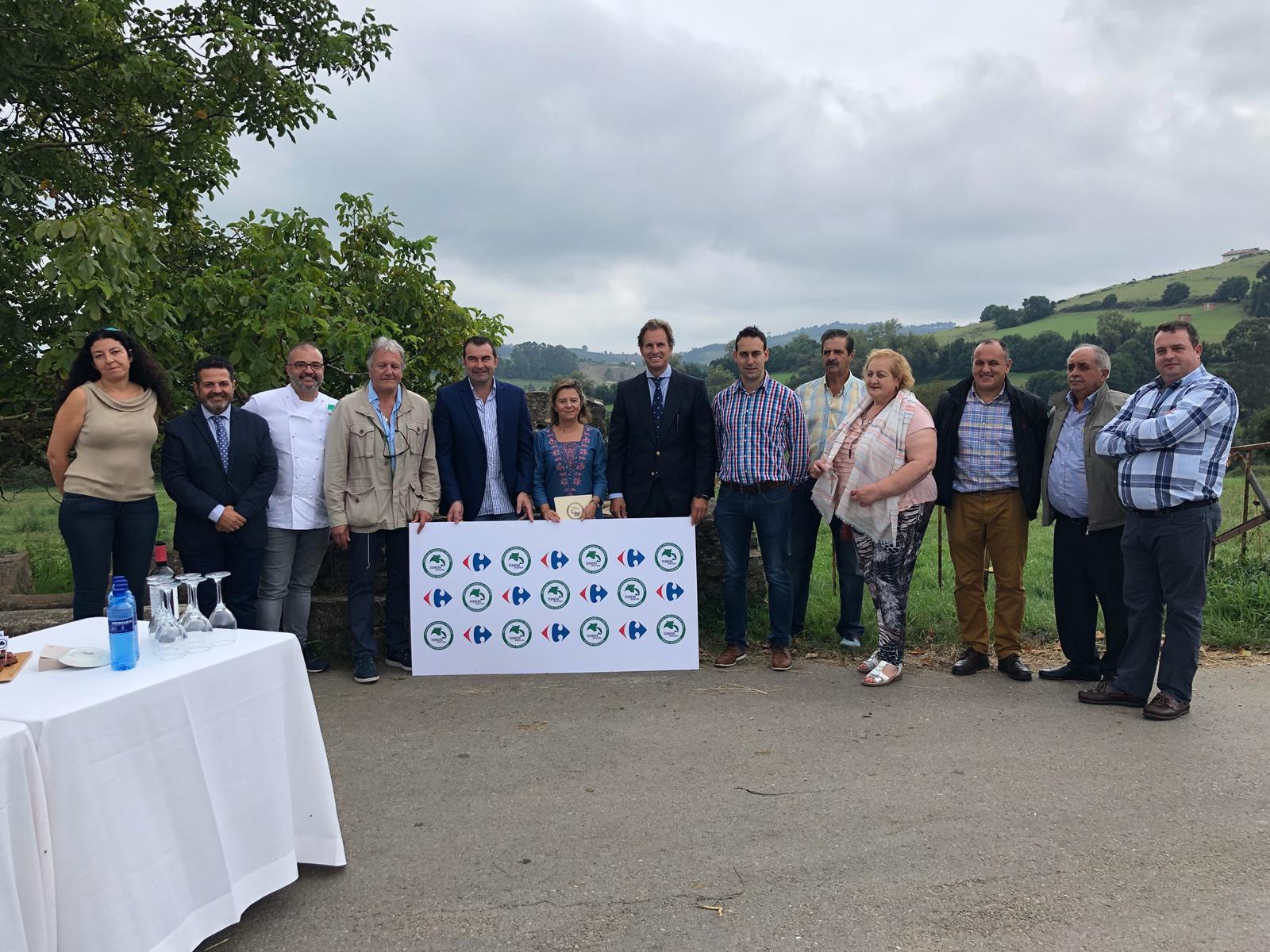 Ternera Asturiana firma un convenio de colaboración con Carrefour
