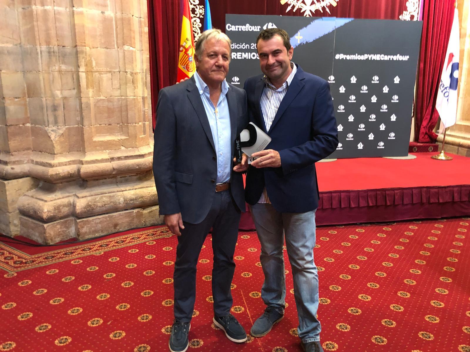 La multinacional francesa Carrefour premia a la I.G.P. Ternera Asturiana por su defensa del medio ambiente, el medio rural y el bienestar animal