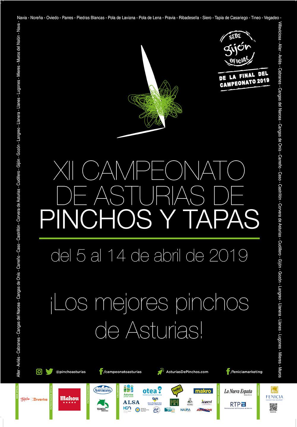 Cartel Pinchos