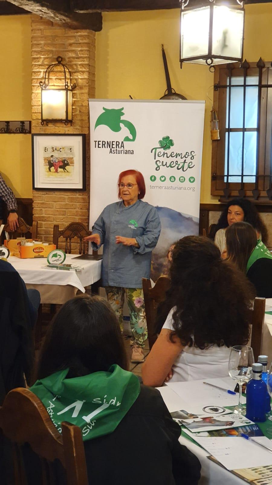 Masterclass para hosteleros en Gijón de Sidra, con Ternera Asturiana.