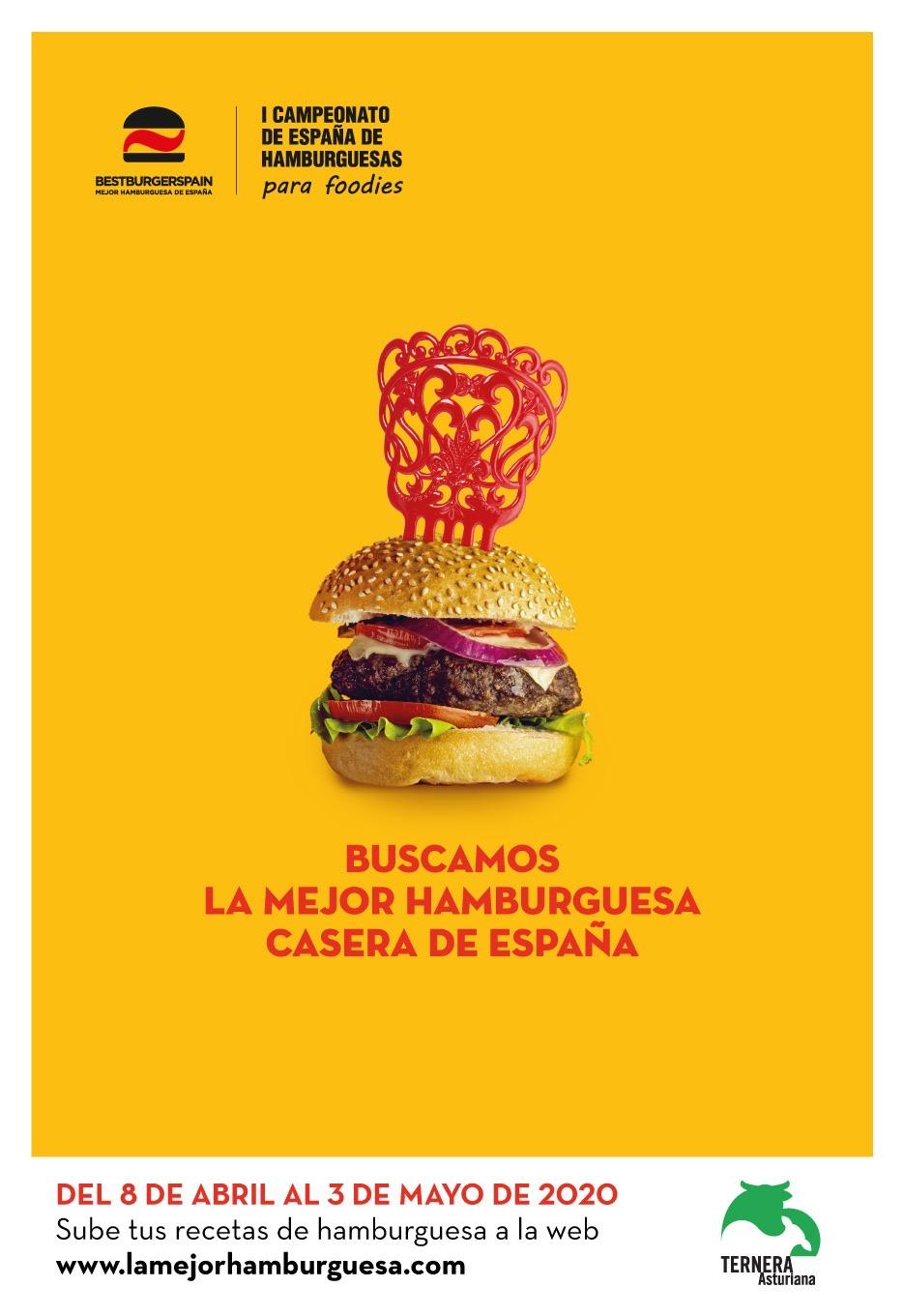 LA MEJOR HAMBURGUESA CASERA DE ESPAÑA