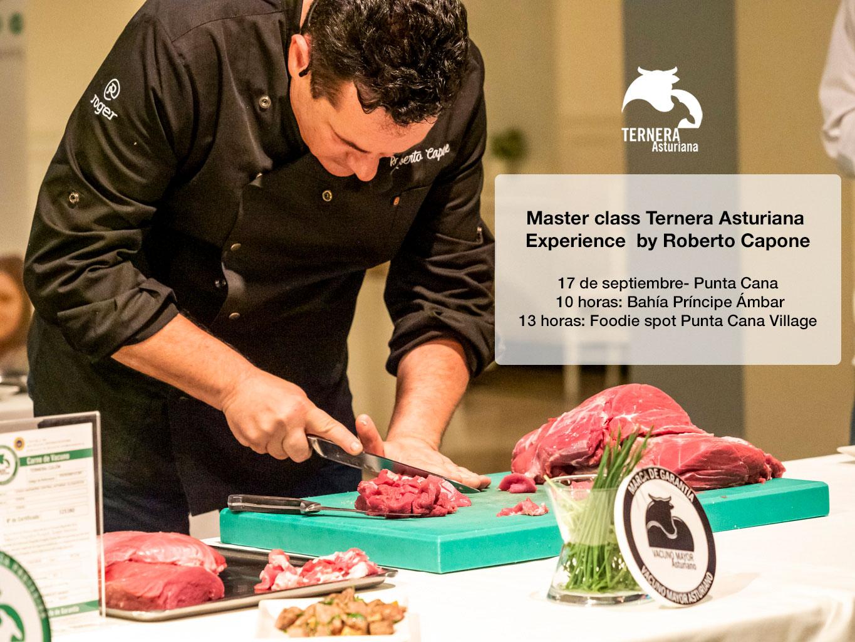 Master class Ternera Asturiana Experience by Roberto Capone