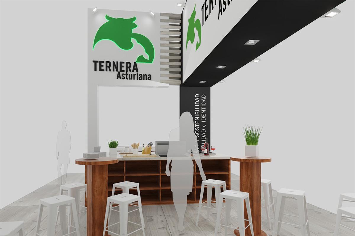 Ternera Asturiana en el Salón de Gourmets 2021.