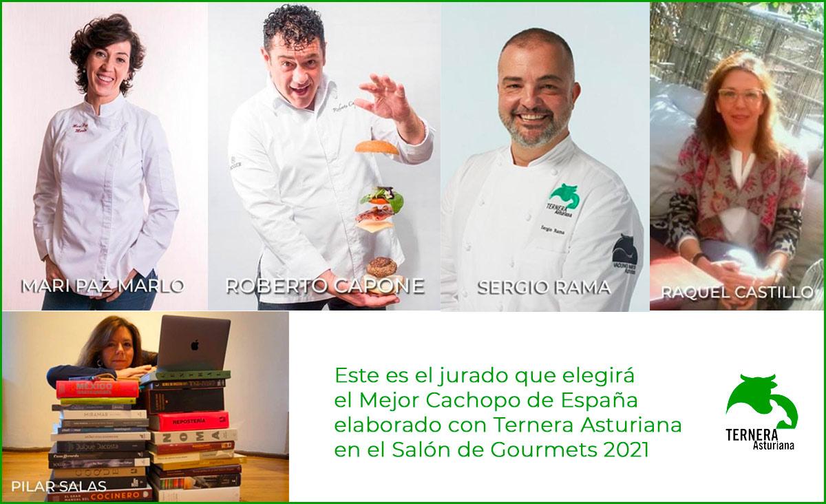 Este es el jurado que elegirá el Mejor Cachopo de España elaborado con Ternera Asturiana en el Salón de Gourmets 2021